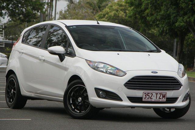 Used Ford Fiesta WZ Trend, 2014 Ford Fiesta WZ Trend White 5 Speed Manual Hatchback