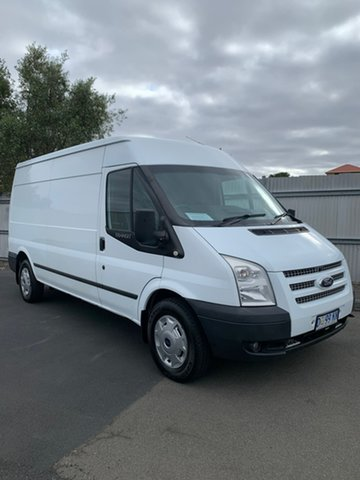 Used Ford Transit VM MY13 350 Mid Roof LWB, 2013 Ford Transit VM MY13 350 Mid Roof LWB White 6 Speed Manual Van