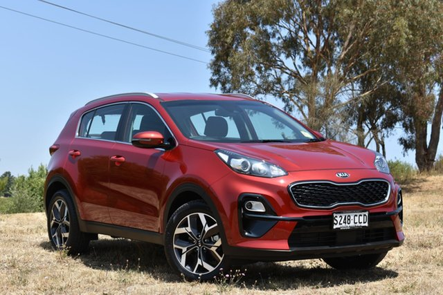 Demo Kia Sportage QL MY19 Si 2WD Premium, 2019 Kia Sportage QL MY19 Si 2WD Premium Fiery Red 6 Speed Sports Automatic Wagon
