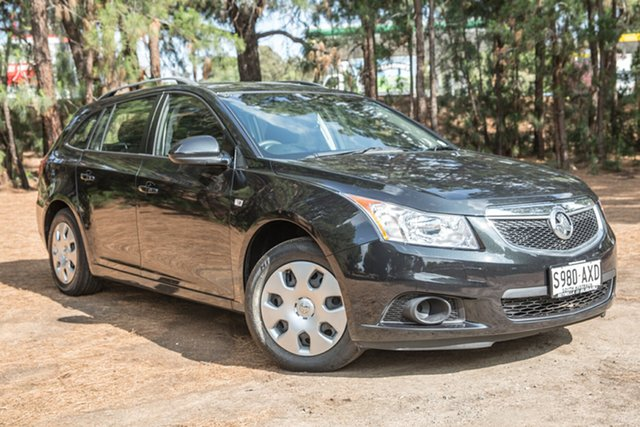 Used Holden Cruze JH Series II MY14 CD Sportwagon, 2013 Holden Cruze JH Series II MY14 CD Sportwagon Black 6 Speed Sports Automatic Wagon