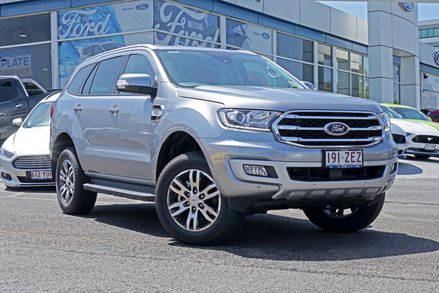 Used Ford Everest UA II 2019.00MY Trend 4WD, 2019 Ford Everest UA II 2019.00MY Trend 4WD Silver 6 Speed Sports Automatic Wagon