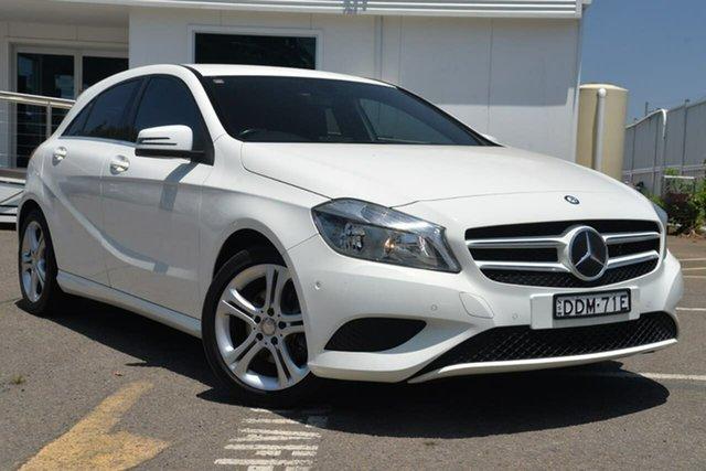 Used Mercedes-Benz A-Class W176 A180 D-CT, 2014 Mercedes-Benz A-Class W176 A180 D-CT White 7 Speed Sports Automatic Dual Clutch Hatchback