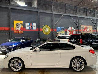 2016 BMW 6 Series F13 LCI 640i Steptronic White 8 Speed Sports Automatic Coupe