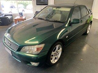 1999 Lexus IS200 GXE10R Sports Luxury Green 4 Speed Automatic Sedan.