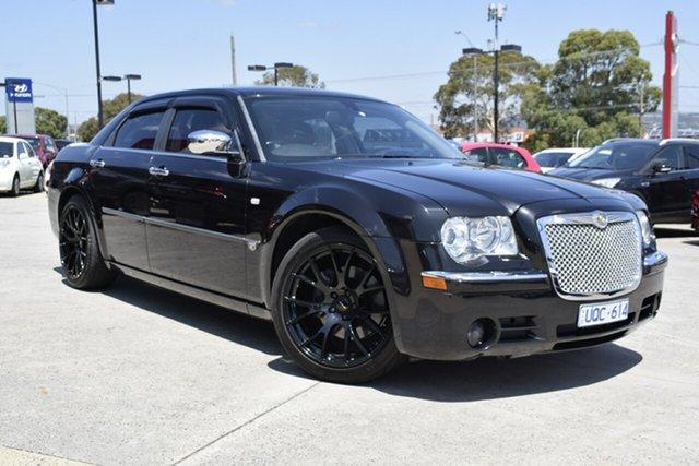 Used Chrysler 300C MY2007 HEMI, 2007 Chrysler 300C MY2007 HEMI Black/Grey 5 Speed Sports Automatic Sedan