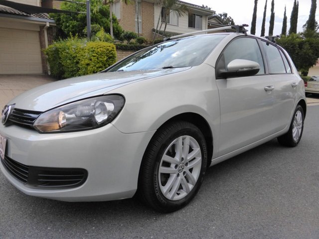 Used Volkswagen Golf 1K MY10 118 TSI Comfortline, 2010 Volkswagen Golf 1K MY10 118 TSI Comfortline Silver 7 Speed Auto Direct Shift Hatchback