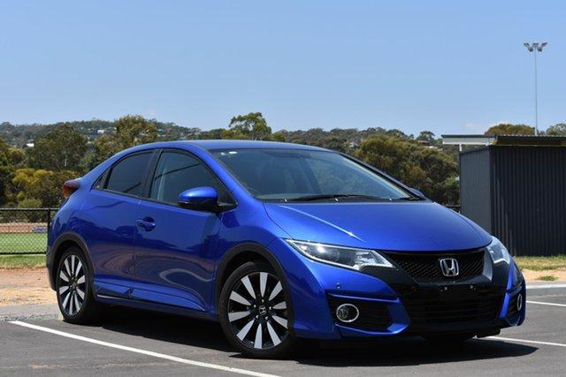 Used Honda Civic 9th Gen MY15 VTi-S, 2015 Honda Civic 9th Gen MY15 VTi-S Blue 5 Speed Sports Automatic Hatchback