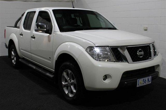 Used Nissan Navara D40 S5 MY12 ST-X, 2012 Nissan Navara D40 S5 MY12 ST-X White 7 Speed Sports Automatic Utility