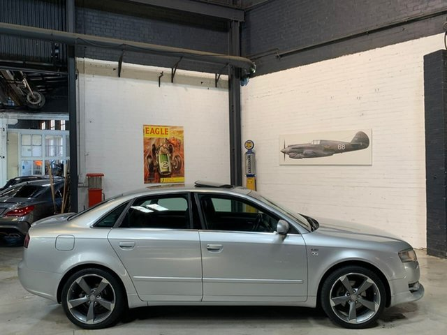 Used Audi A4 B7 Multitronic, 2007 Audi A4 B7 Multitronic Silver 7 Speed Constant Variable Sedan