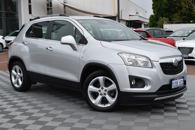 Used Holden Trax TJ MY14 LTZ, 2014 Holden Trax TJ MY14 LTZ Silver 6 Speed Automatic Wagon
