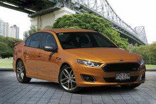 2015 Ford Falcon FG X XR6 Turbo Orange 6 Speed Sports Automatic Sedan.