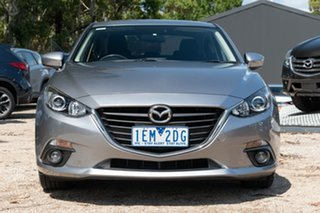 2014 Mazda 3 BM5238 SP25 SKYACTIV-Drive Silver 6 Speed Sports Automatic Sedan