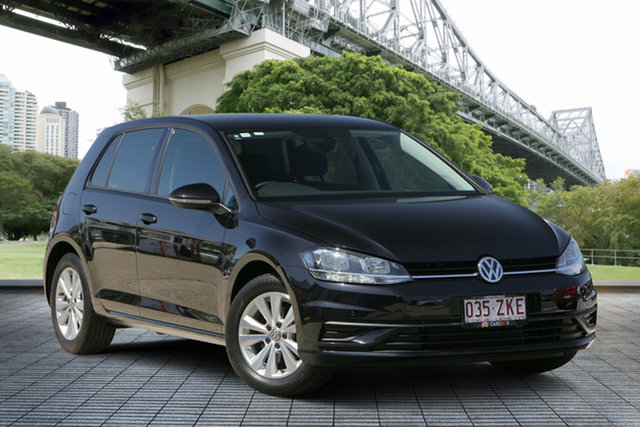 Used Volkswagen Golf 7.5 MY17 110TSI Trendline, 2017 Volkswagen Golf 7.5 MY17 110TSI Trendline Black 6 Speed Manual Hatchback