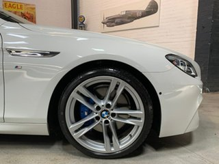 2016 BMW 6 Series F13 LCI 640i Steptronic White 8 Speed Sports Automatic Coupe.