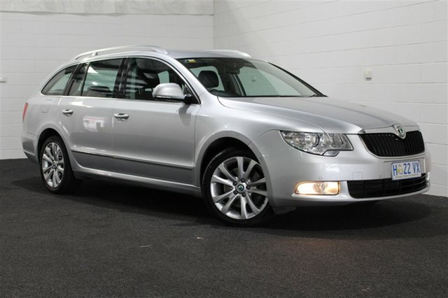 Used Skoda Superb 3T MY12 Ambition DSG 118TSI, 2011 Skoda Superb 3T MY12 Ambition DSG 118TSI Silver 7 Speed Sports Automatic Dual Clutch Wagon