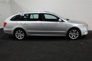 2011 Skoda Superb 3T MY12 Ambition DSG 118TSI Silver 7 Speed Sports Automatic Dual Clutch Wagon.