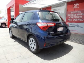 2019 Toyota Yaris NCP130R Ascent Dynamic Blue 4 Speed Automatic Hatchback