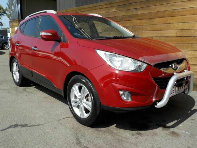 Used Hyundai ix35 LM MY12 Elite AWD, 2012 Hyundai ix35 LM MY12 Elite AWD Red 6 Speed Sports Automatic Wagon