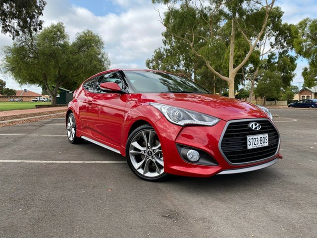 Used Hyundai Veloster FS4 Series II SR Coupe D-CT Turbo +, 2016 Hyundai Veloster FS4 Series II SR Coupe D-CT Turbo + Red 7 Speed Sports Automatic Dual Clutch