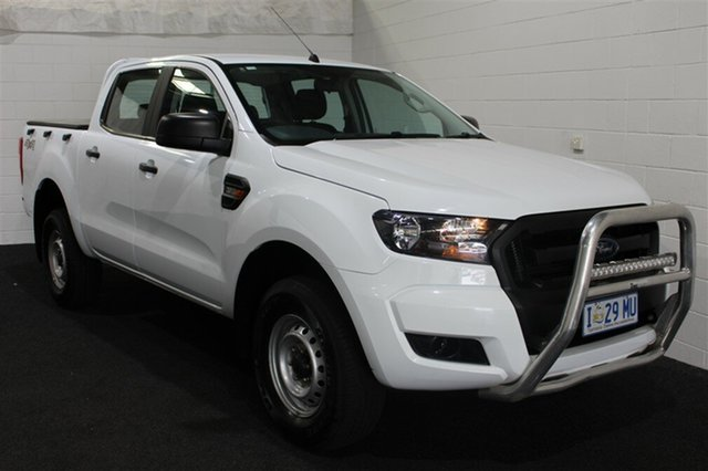 Used Ford Ranger PX MkII XL Double Cab, 2016 Ford Ranger PX MkII XL Double Cab White 6 Speed Sports Automatic Cab Chassis
