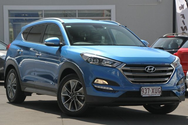 Used Hyundai Tucson TLe MY17 Elite 2WD, 2017 Hyundai Tucson TLe MY17 Elite 2WD Blue 6 Speed Sports Automatic Wagon