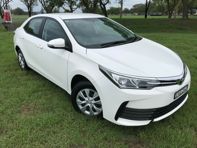 Used Toyota Corolla ZRE172R Ascent S-CVT, 2018 Toyota Corolla ZRE172R Ascent S-CVT Glacier White 7 Speed Constant Variable Sedan