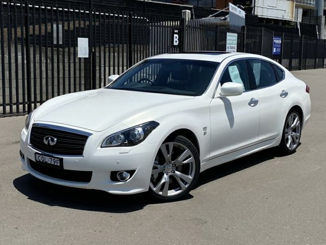 Used Infiniti Q70 Y51 S Premium, 2014 Infiniti Q70 Y51 S Premium White 7 Speed Sports Automatic Sedan