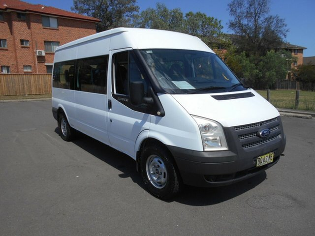 Used Ford Transit VM MY12 Update 12 Seat, 2012 Ford Transit VM MY12 Update 12 Seat White 6 Speed Manual Bus