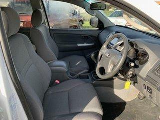 2012 Toyota Hilux KUN26R MY12 SR5 (4x4) Glacier White 5 Speed Manual Dual Cab Pick-up