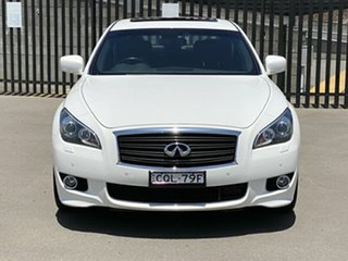 2014 Infiniti Q70 Y51 S Premium White 7 Speed Sports Automatic Sedan.