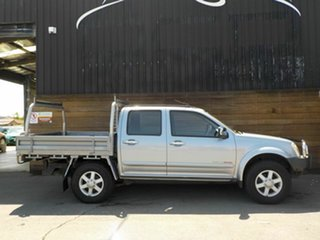 2005 Holden Rodeo RA MY05.5 LT Crew Cab Silver 4 Speed Automatic Utility.