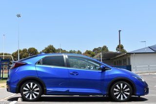 2015 Honda Civic 9th Gen MY15 VTi-S Blue 5 Speed Sports Automatic Hatchback.