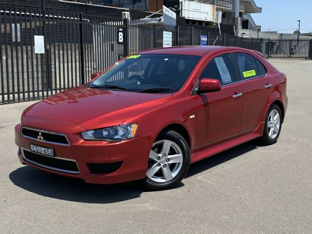 Used Mitsubishi Lancer CJ MY13 LX Sportback, 2013 Mitsubishi Lancer CJ MY13 LX Sportback Red 5 Speed Manual Hatchback