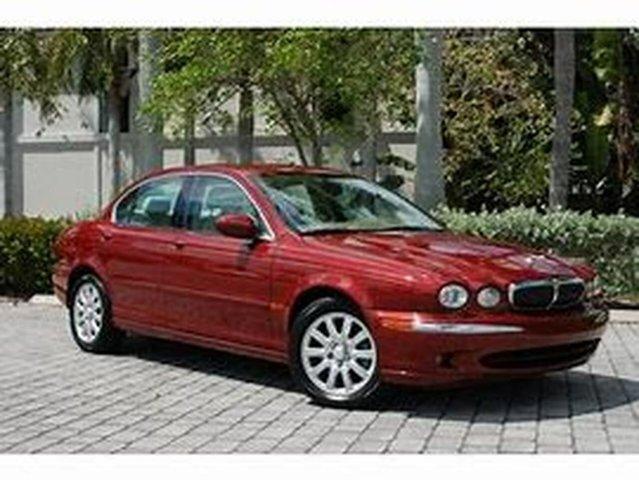 Used Jaguar X-Type X400 Sport, 2002 Jaguar X-Type X400 Sport Red 5 Speed Automatic Sedan