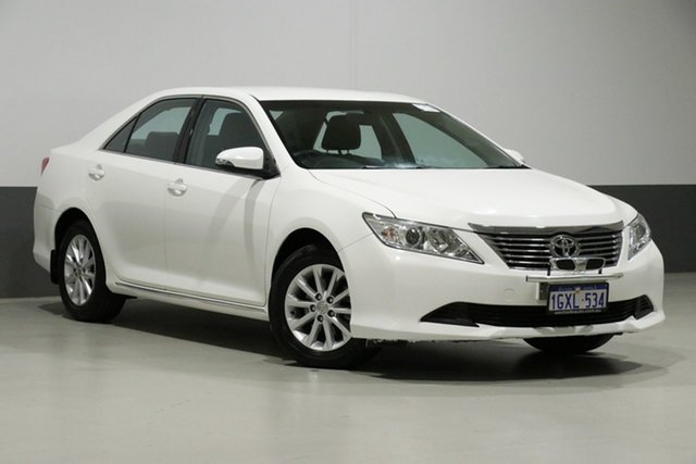 Used Toyota Aurion GSV50R AT-X, 2014 Toyota Aurion GSV50R AT-X White 6 Speed Automatic Sedan