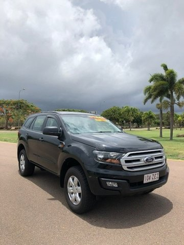 Used Ford Everest UA Ambiente 4WD, 2015 Ford Everest UA Ambiente 4WD Black 6 Speed Sports Automatic Wagon
