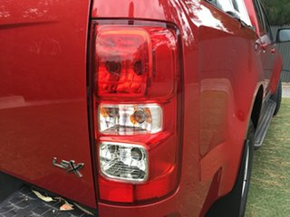2015 Holden Colorado RG MY16 LS-X Crew Cab Red 6 Speed Sports Automatic Utility