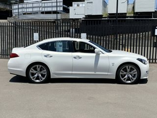 2014 Infiniti Q70 Y51 S Premium White 7 Speed Sports Automatic Sedan
