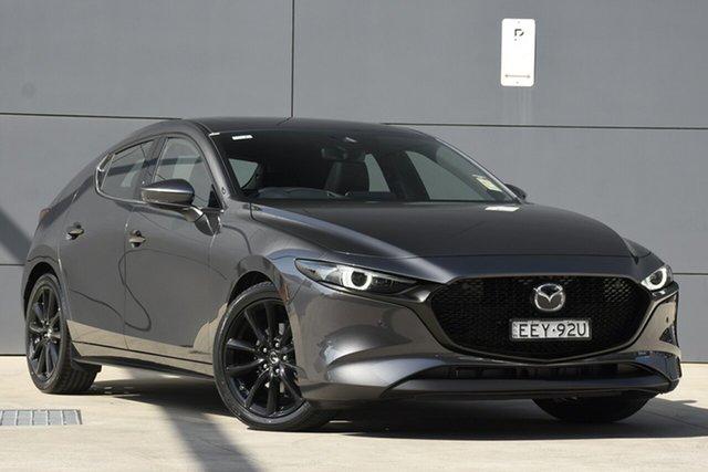 Demo Mazda 3 BP2HL6 G25 SKYACTIV-MT Astina, 2019 Mazda 3 BP2HL6 G25 SKYACTIV-MT Astina Machine Grey 6 Speed Manual Hatchback