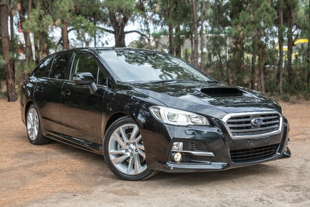 Used Subaru Levorg V1 MY17 2.0 GT CVT AWD, 2016 Subaru Levorg V1 MY17 2.0 GT CVT AWD Black 8 Speed Constant Variable Wagon