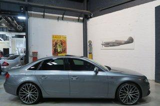 2010 Audi A4 B8 8K MY11 S Tronic Quattro Grey 7 Speed Sports Automatic Dual Clutch Sedan.