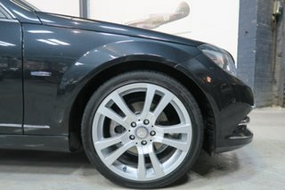 2011 Mercedes-Benz C-Class W204 MY11 C250 CDI BlueEFFICIENCY 7G-Tronic Avantgarde Black 7 Speed.
