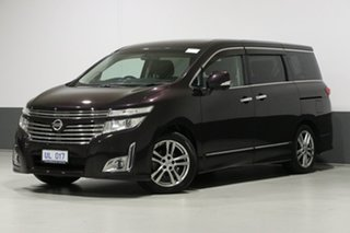 2010 Nissan Elgrand E52 Highway Star Premium Midnight Purple 6 Speed Constant Variable Wagon.