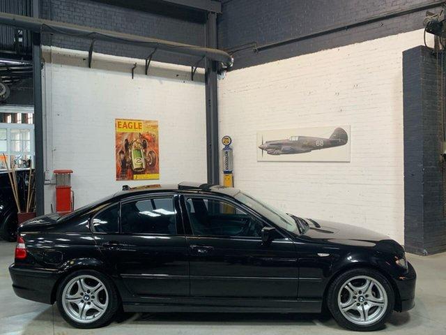 Used BMW 3 Series E46 MY2004 318i Steptronic, 2004 BMW 3 Series E46 MY2004 318i Steptronic Black 5 Speed Sports Automatic Sedan