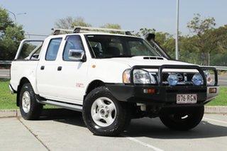 2010 Nissan Navara D22 MY2010 ST-R White 5 Speed Manual Utility.