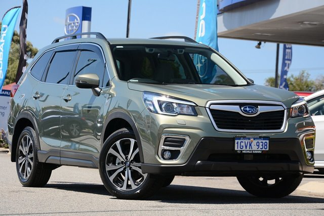 Demo Subaru Forester S5 MY20 2.5i Premium CVT AWD, 2019 Subaru Forester S5 MY20 2.5i Premium CVT AWD Jasper Green Metallic 7 Speed Constant Variable