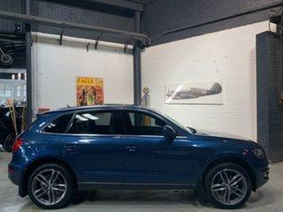 2010 Audi Q5 8R MY11 TFSI S Tronic Quattro Blue 7 Speed Sports Automatic Dual Clutch Wagon.