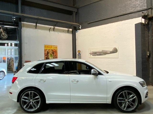 Used Audi SQ5 8R MY15 TDI Tiptronic Quattro, 2015 Audi SQ5 8R MY15 TDI Tiptronic Quattro White 8 Speed Sports Automatic Wagon