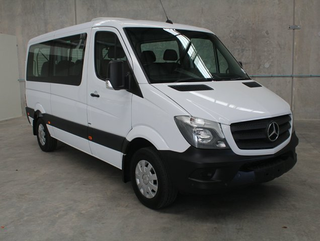 Used Mercedes-Benz Sprinter NCV3 316CDI Low Roof MWB 7G-Tronic Transfer, 2016 Mercedes-Benz Sprinter NCV3 316CDI Low Roof MWB 7G-Tronic Transfer White 7 speed Automatic Bus