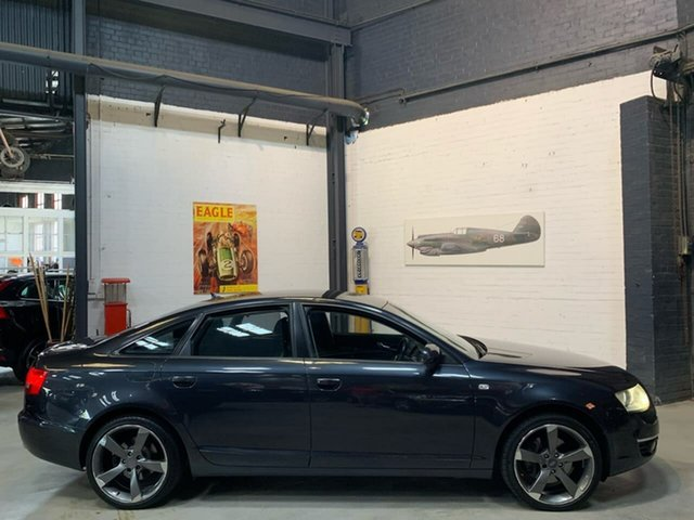 Used Audi A6 4F Multitronic, 2007 Audi A6 4F Multitronic Blue 1 Speed Constant Variable Sedan